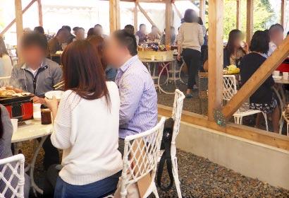 BBQ婚活パーティーイメージ